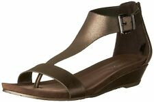 Kenneth Cole Reaction Womens great gal Fabric Open Toe Casual T-Strap Sandals