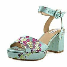 Steve Madden Womens Tickle Fabric Open Toe Casual Slingback Sandals