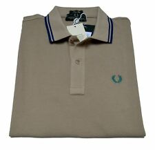 Camiseta Del Polo Suéter De Hombre Men Fred Perry Made in Italy 2148