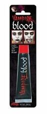 Fake Red Blood Vampire Zombie Face Make Up Halloween Fancy Dress Accessory