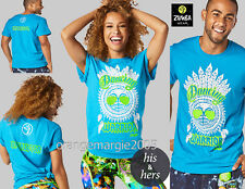 ZUMBA Dance Warrior Instructor Tee Zin Unisex - Men's Women's XS/S, M/L, XL/XXL