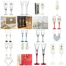 Anniversary, Wedding, Celebrations Toasting Champagne flute set