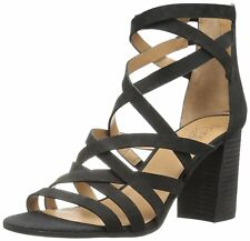 Franco Sarto Womens madrid Fabric Open Toe Casual Strappy Sandals