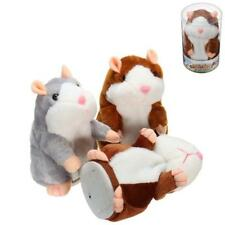 Mimicry Talking Hamster Pet 15cm Christmas Gift Plush Toy Cute Speak Sound