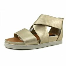 STEVEN by Steve Madden Womens FLRENCE Leather Open Toe Casual Gladiator Sandals