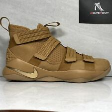 DS Nike Lebron Soldier 11 XI SFG Size 10/Size 11.5 Wheat 897646 700