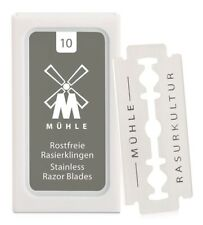 Muhle Double Edge Safety Razor Replacement Blades Brand New Sealed