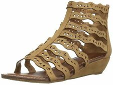 Carlos by Carlos Santana Womens Kitt Fabric Open Toe Casual Strappy Sandals