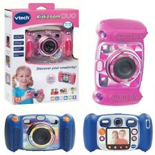 VTECH KIDIZOOM DUO KIDS DIGITAL CAMERAS IN BLUE AND PINK OR VTECH CAMERA