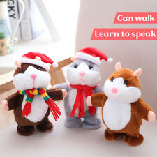 Hot Talking Hamster Electronic Pet Plush Toy Cute Sound Record Hamster