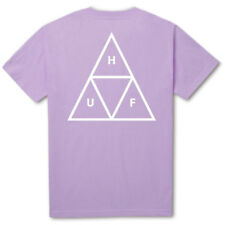 HUF Triple Triangle T-Shirt Lavender skateboard T-Shirt Gr.S-XL
