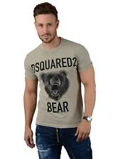 Dsquared2 T-SHIRT - s74gd0289 Uomo D2 ORSETTO T-shirt in pietra