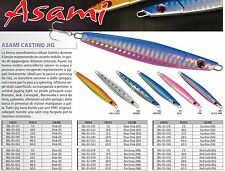 ARTIFICIALE RAPTURE ASAMI DA SPINNING E VERTICAL JIG  14 Gr  / 21 Gr / 28 Gr