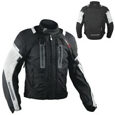 Motorcycle Jacket CE Armored Motorbike Textile Warterproof 4 layer