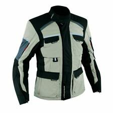 Textile Vented Waterproof Motorcycle Motorbike Quality Touring Jacket Sand