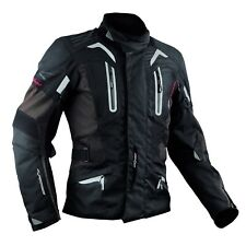 Motorbike Motorcycle CE Armours Warterproof Textile Jacket Thermal Layer Brown