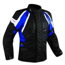 Jacket CE Armored Quality Waterproof Motorbike Motorcycle Thermal Liner Blue