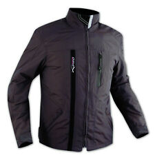 Textile Waterproof CE Armour Thermal Jacket Motorcycle Scooter Brown