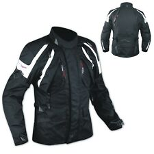 Jacket CE Armored Quality Waterproof Motorbike Motorcycle Thermal Liner White