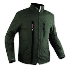Textile Waterproof CE Armour Thermal Jacket Motorcycle Scooter Green