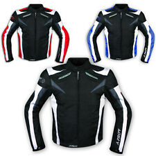 Leather Jacket Ladies Racing Motorcycle Motorbike All Season CE Armored