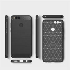 For Huawei Honor 7X Back Cover Luxury Hybrid Brushed Soft Cover