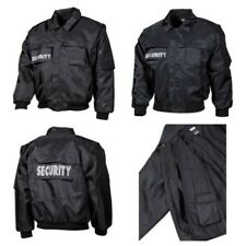 Blusa SECURITY 2 1 Giacca Gilet Giacca Duty FODERA Patch NERO BLU
