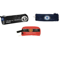 Manchester United & Chelsea FC Pencil Case School Stationery Kids with Crest