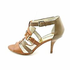 MICHAEL Michael Kors Womens Rustin Open Toe Leather Open Toe Casual Strappy S...
