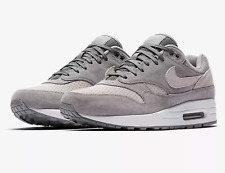 New 2018 Air Max 1 87 Wolf Grey Cool Grey Soft Suede UK 7-11 EUR 41-46