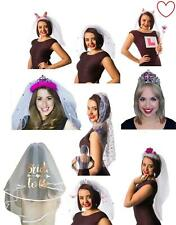 Hen night accessories tiaras veils sets bride to be party