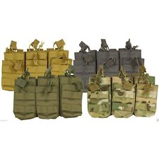 Viper Tactical Duo Treble Mag Pouch Military MOLLE Airsoft V-Cam, Coyote, Green