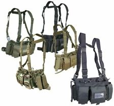 Viper Tactical Special Ops Chest Rig Vest Airsoft Army Quad Mag GPS Pistol Pouch