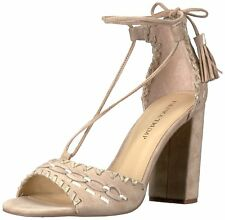 Ivanka Trump Womens Karita Leather Open Toe Special Occasion Ankle Strap Sand...