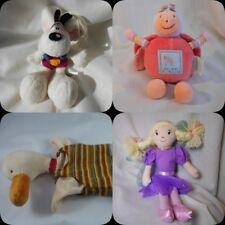 selection of small mixed soft toys