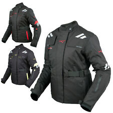 Mujer Chaqueta Transpirable Moto Scooter Termica Impermeable Touring