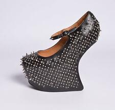 JEFFREY CAMPBELL ZAPATOS DE MUJER ESPINOSA LEATHER BLACK
