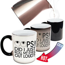 Funny Mugs - Did I Roll My Eyes Out Loud - Adult Humour Cheeky Magic NOVELTY MUG