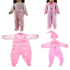 Lovely Doll Jumpsuit Clothes fit 43cm Baby Born Zapf 18 Inch American Girl Doll,