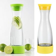 Water Carafe Water Beverages Carafe Bottle Made of Glass Climate 1, 25L