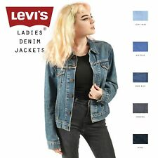 Womens Vintage Levis Denim Jacket Various Colours XS,S,M,L,XL,XXL