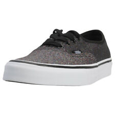 Vans Authentic Glitter Femmes Baskets Rainbow Black Neuf Chaussure