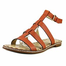 MICHAEL Michael Kors Womens Fallon Leather Open Toe Casual Strappy Sandals