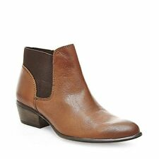 STEVEN by Steve Madden Womens Rozamare Closed Toe Ankle Fashion Boots