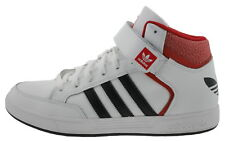 ADIDAS VARIAL Medio b27422 Zapatillas High-top Cuero Blanco Rojo 180227