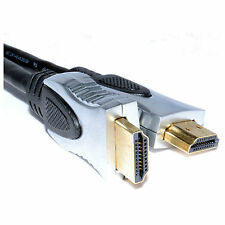Premium* Ultra HD HDMI V1.4 Gold Cable *High Speed+Ethernet* Support 4k x 2k