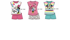 Ensemble T-shirt Sans Manches et Courte DISNEY Minnie Mouse 100%Coton - 171081