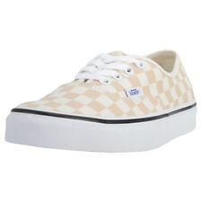 Vans Authentic Checkerboard Femmes Baskets Apricot Neuf Chaussure