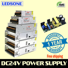 DC 24V Universal Regulated Switching Power Supply Transformer LED Strip CCTV-UK