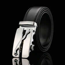 MENS DESIGNER BELTS FOR MEN AUTOMATIC JAGUAR BELT BUCKLE LUXURY H 96 GG LEATHER
